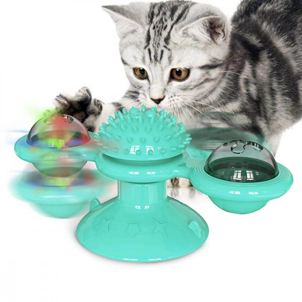 Игрушка для кошек Supretto Бирюзовый (6009)