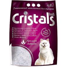 Гигиенический наполнитель Cristals Fresh Силикагелевый 4.8л (5070230)