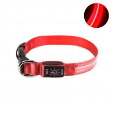 LED ошейник светодиодный Friend CR2032 Red S