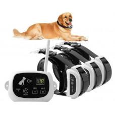 Беспроводной электронный забор для собак Pet KD-661 с 3-мя ошейниками
