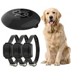 Беспроводной электронный забор для собак Wireless Dog Fence WDF-558 с 3-мя ошейниками