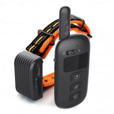Электронный ошейник для собаки для дрессировки + антилай 2 в 1 Dobe DB 500 Оранжевый (100609)