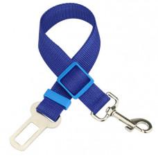Автомобильный ремень безопасности для собаки GoodTrip 43-72 см Blue (HbP050624)