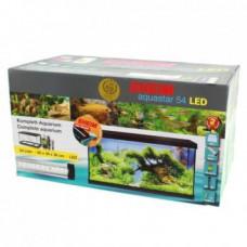Аквариумный комплект EHEIM aquastar 54 LED черный (60x30x30, 54л)