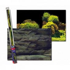Аквариумный задний фон AQUA-NOVA ROCK PLANTS XL