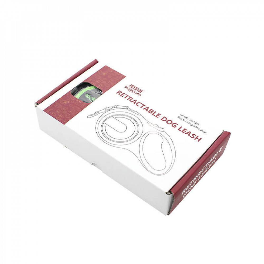 Автоматический поводок-рулетка для собак Taotaopets 173320 длина 3 m Pink (5306-17869)