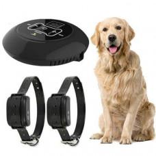 Беспроводной электронный забор для собак Wireless Dog Fence WDF-558 с 2-мя ошейниками