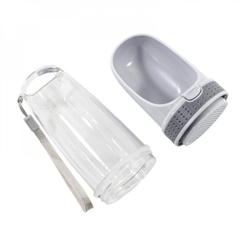 Поилка-бутылка для котов и собак Taotaopets LS-210 28x8см Grey