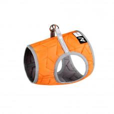 Шлея мягкая AiryVest ONE, размер ХS4, оранжевый