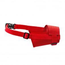 Намордник нейлон Dog Extremе регулируемый №1, красный