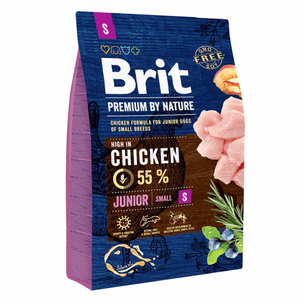 Brit Premium Dog Junior S 3 kg
