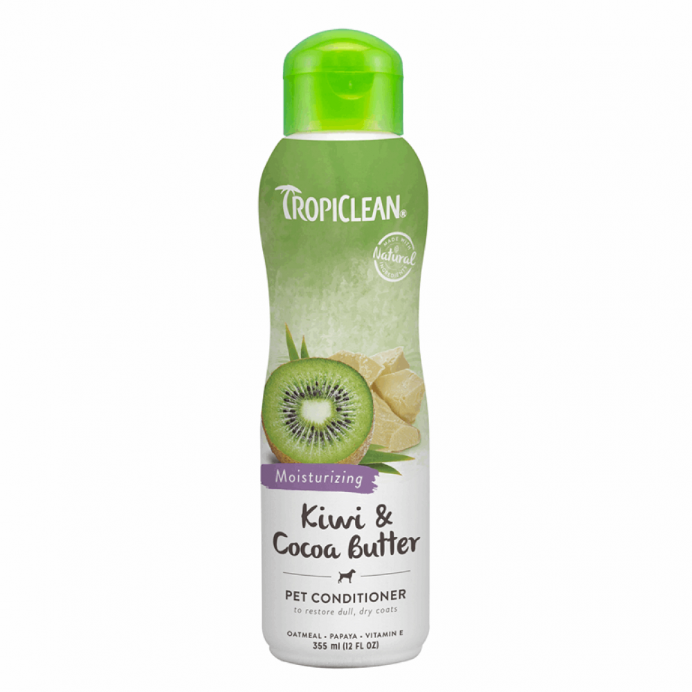 Кондиционер TropiClean Kiwi&Cc Btr 355ml киви/какао-.масло
