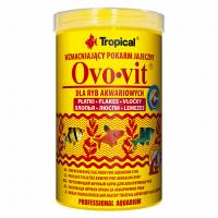 Ovo-vit 1L/200g (хлопья) с выс.содерж. яичного желтка для всех видов рыб