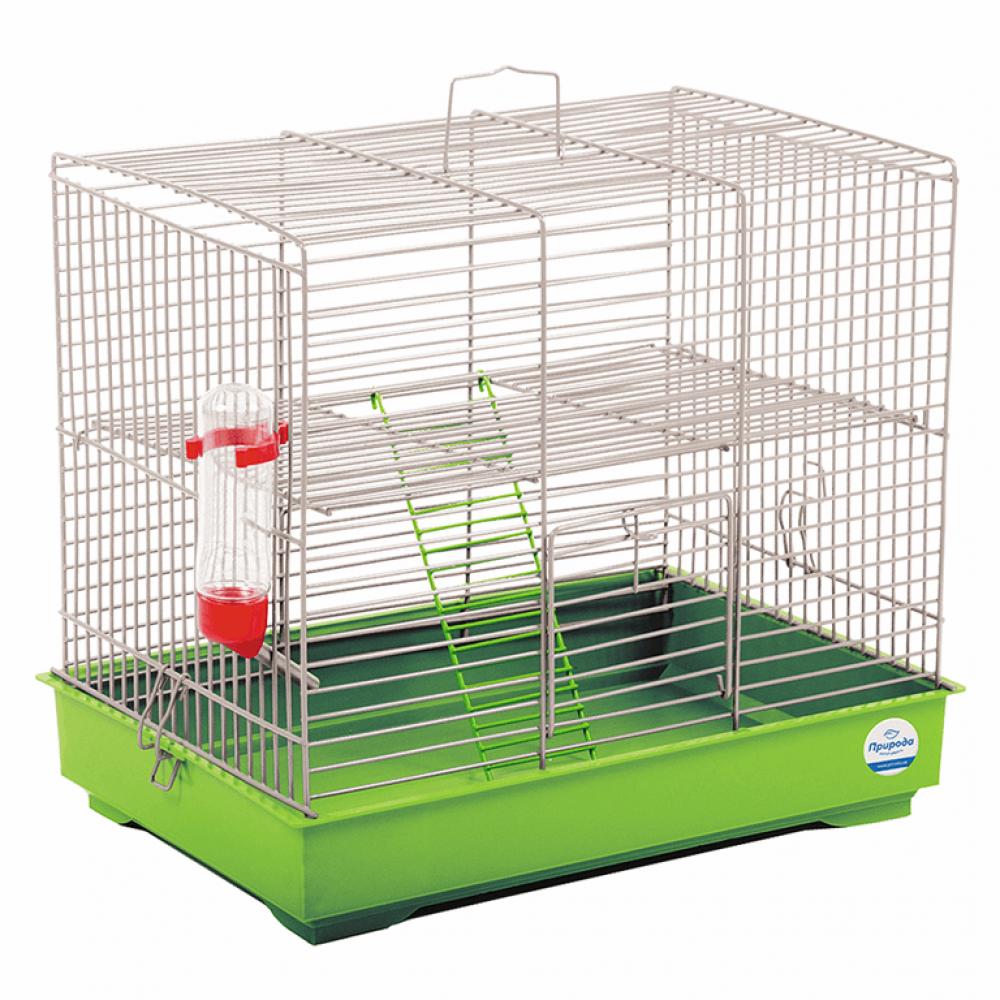 Клетка для грызунов Микки ХРОМ 37*25*30