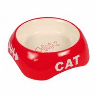 Миска керам. CAT д/кот. 0,2л/13см