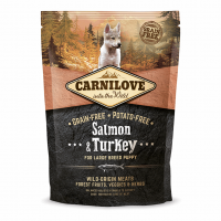 Carnilove Puppy Large Breed Salmon & Turkey 1,5 kg (д/щенков крупных пород)