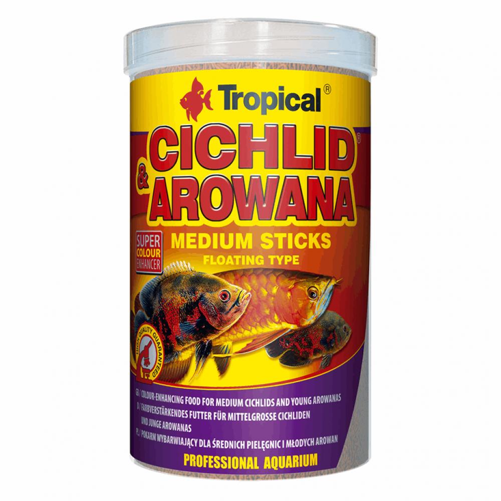Cichlid &Arowana Medium Sticks 1L/360g