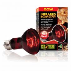 Инфракрасная лампа накаливания Exo Terra «Infrared Basking Spot» 50 W, E27 (для обогрева)