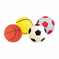 Мяч резиновый ассорти 6см,1шт