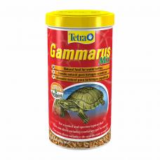 Натуральный корм для водоплавающих черепах Tetra «Gammarus Mix» сушёные гаммарус и анчоус 1 л