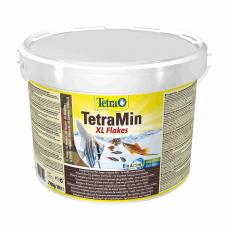 Сухой корм для аквариумных рыб Tetra в хлопьях «TetraMin XL Flakes» 10 л (для всех аквариумных рыб)