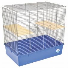 Клетка для грызунов Природа «Шиншилла» 70 x 40 x 60 см (хромированная)