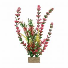 Растение пластиковое 30 см, 1шт