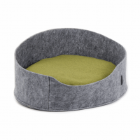 Лежак БАЛИ (22*37*48) серый