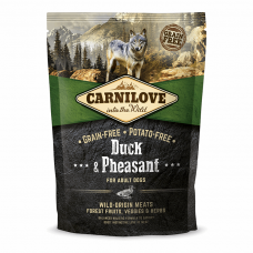 Carnilove Adult Duck & Pheasant 1,5 kg (д/взрослых собак с уткой и фазаном)