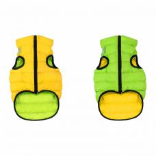 Жилетка для собак Collar «Airy Vest» XS 30 см (жёлтая / зелёная)