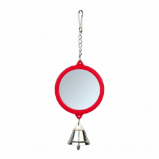 Зеркало с колокольчиком пластик. д/клеток 5,5см