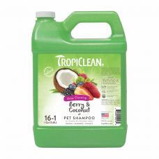 Шампунь TropiClean Berry&Coconut 38L ягода/кокос