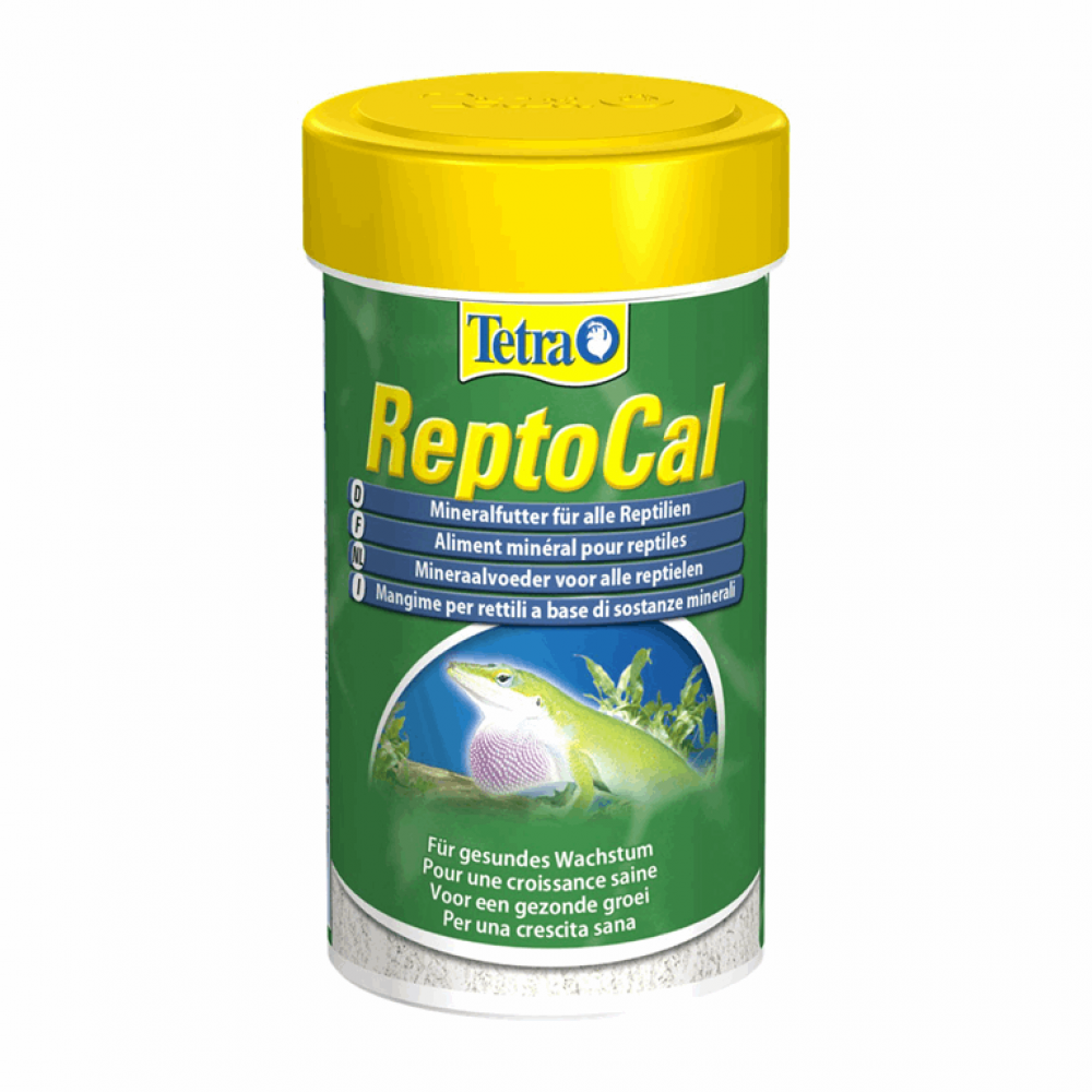 Tetra ReptoCal 100ml порошок-корм для рептилий