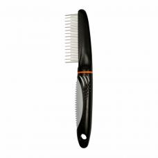 Расчёска Trixie с пластиковой ручкой, коротким и длинным зубом 22 см
