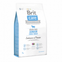 Brit Care GF Junior Large Breed Salmon & Potato 3 kg (д/щенков гигантских пород)