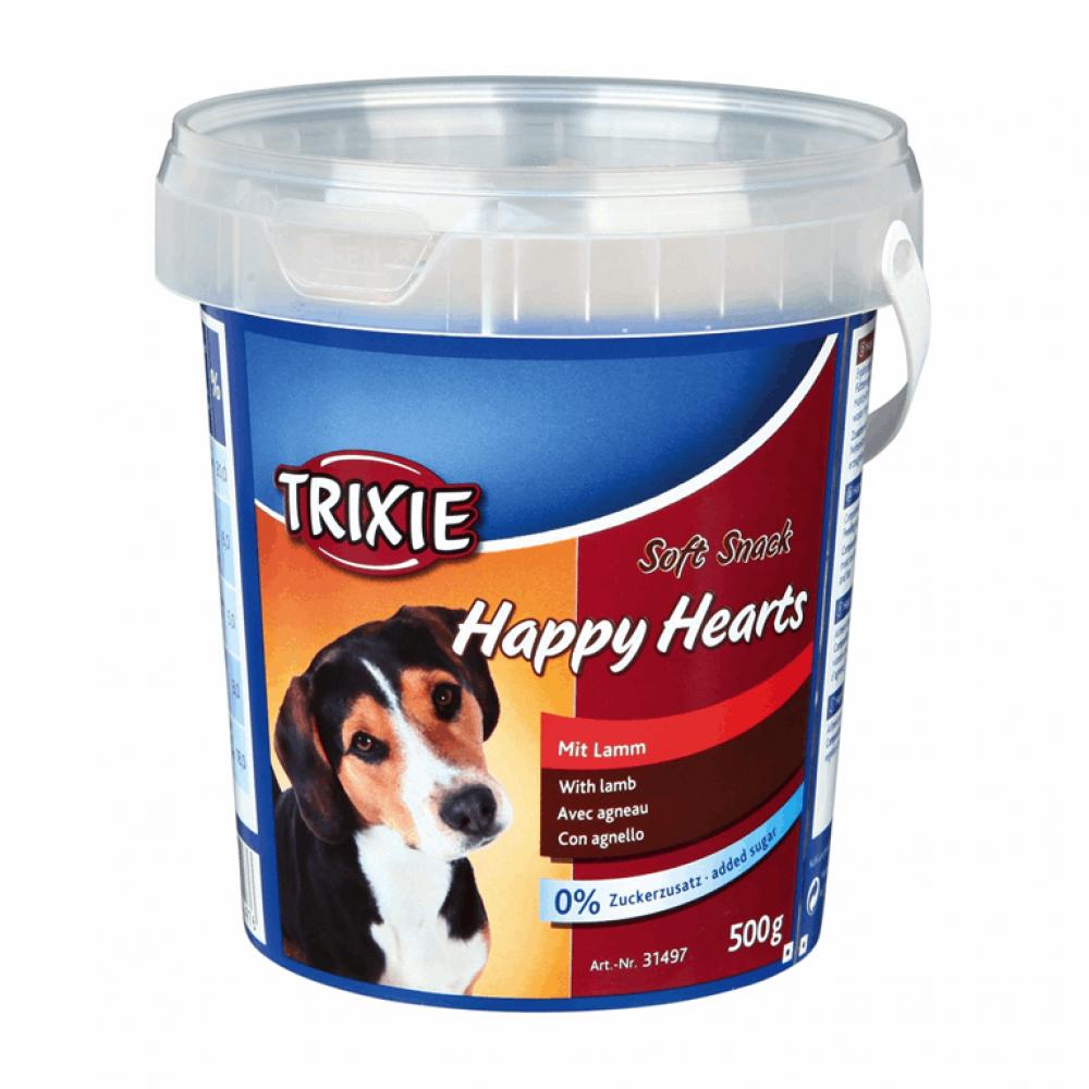 Витамины для собак Ведро пластик. Happy Hearts 500гр