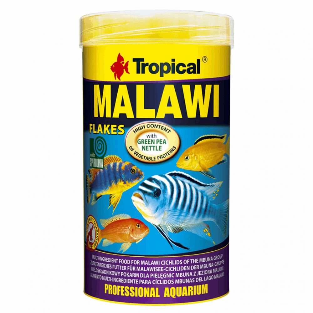 Malawi  250ml/50g (хлопья) корм цихлиданалог природн. кормаприменяется проф. разводчиками
