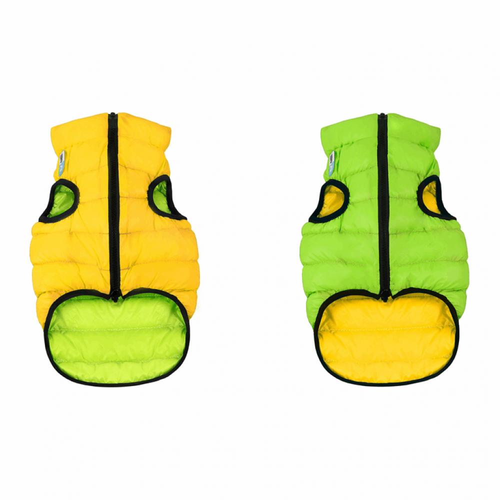 Жилетка для собак Collar «Airy Vest» L 65 см (жёлтая / зелёная)
