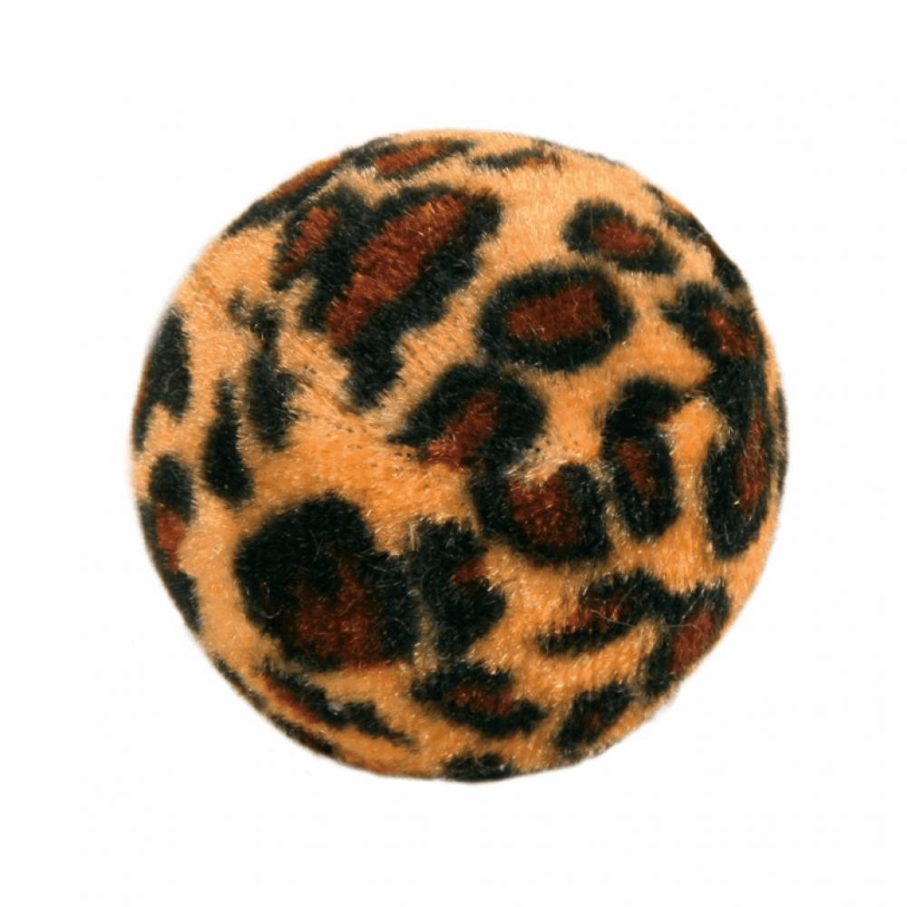 Набор мячиков мехов. леопард 3,5см (4шт)