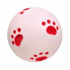 Мяч виниловый с лапкой 10 см