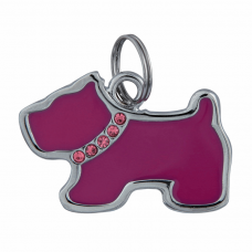 Брелок-адресник Trixie Собака 3,5 x 2,5 см (металл)