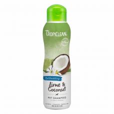 Шампунь для кошек и собак TropiClean «Lime & Coconut» (Лайм и кокос) 355 мл