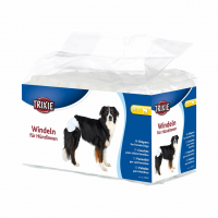 Памперсы-подгузники для собак M-L (12шт)
