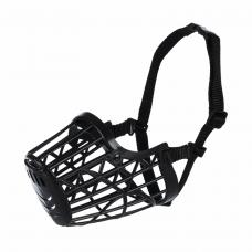 Намордник Trixie пластиковый S 17 см (чёрный)