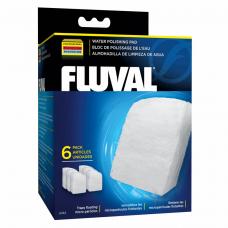 Вкладыш в фильтр Fluval «Water Polishing Pad» 6 шт. (для внешнего фильтра Fluval 304 / 305 / 306 / 404 / 405 / 406)