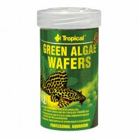 Green algae wafers 100ml /45g корм для анциструсов, птеригоплихтов и т.д