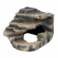 Декорация для террариума Trixie Грот угловой со ступеньками 16 x 12 x 15 см (полиэфирная смола)