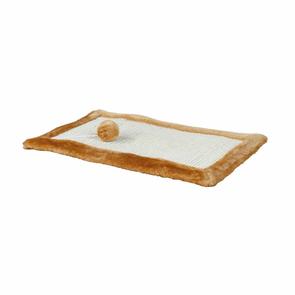 Дряпка-коврик 55*35cм коричневая