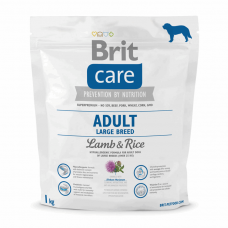 Brit Care Adult Large Breed Lamb & Rice 1 kg (д/собак весом от 25 кг)