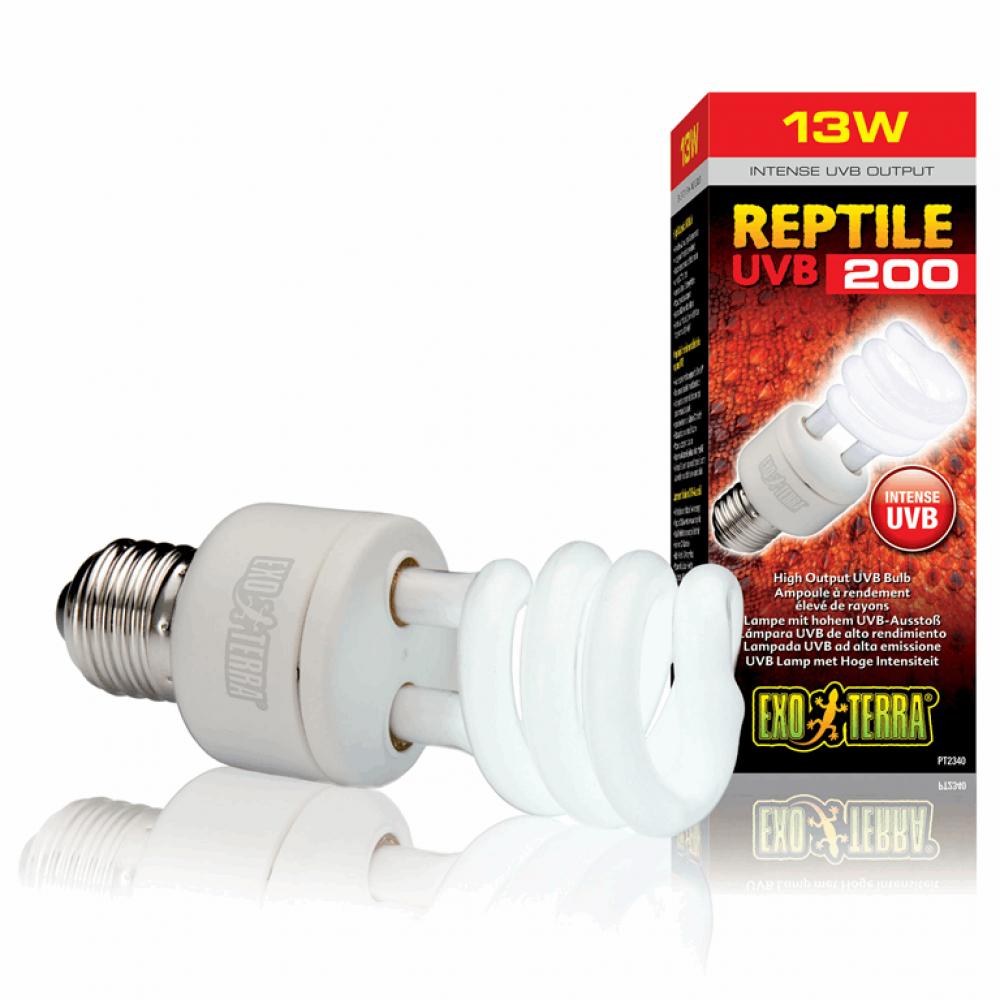 Лампа REPTILE UVB 200/13W E27